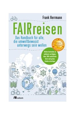 Abbildung von Herrmann   FAIRreisen   2016   Das Handbuch für alle, die umw...