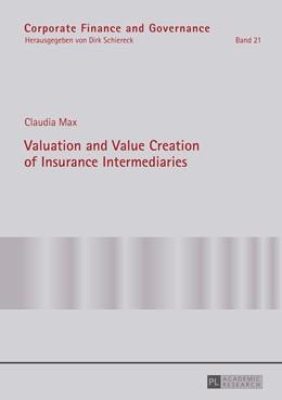 Abbildung von Max | Valuation and Value Creation of Insurance Intermediaries | 2016 | 21