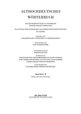 Abbildung von Schmid   Band VII: O – R. 3. und 4. Lieferung (ouga bis platamuos)   2016