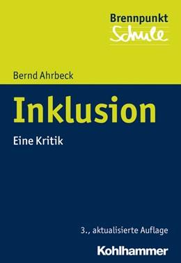 Abbildung von Ahrbeck | Inklusion | 3. Auflage | 2016 | beck-shop.de