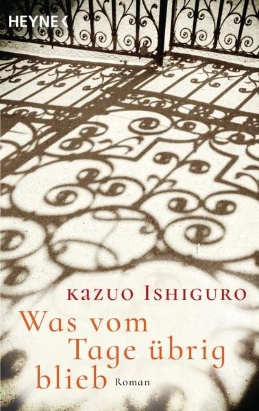 Was vom Tage übrig blieb | Ishiguro, 2016 | Buch (Cover)