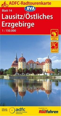 Abbildung von ADFC-Radtourenkarte 14 Lausitz /Östliches Erzgebirge 1:150.000, reiß- und wetterfest, GPS-Tracks Download | 8. Auflage | 2016