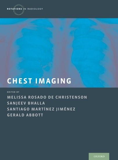 Chest Imaging | Rosado de Christensen / Bhalla / Abbott / Martinez-Jimenez, 2017 | Buch (Cover)