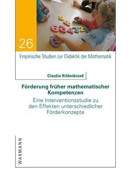 Abbildung von Hildenbrand | Förderung früher mathematischer Kompetenzen | 1. Auflage | 2016 | 26 | beck-shop.de