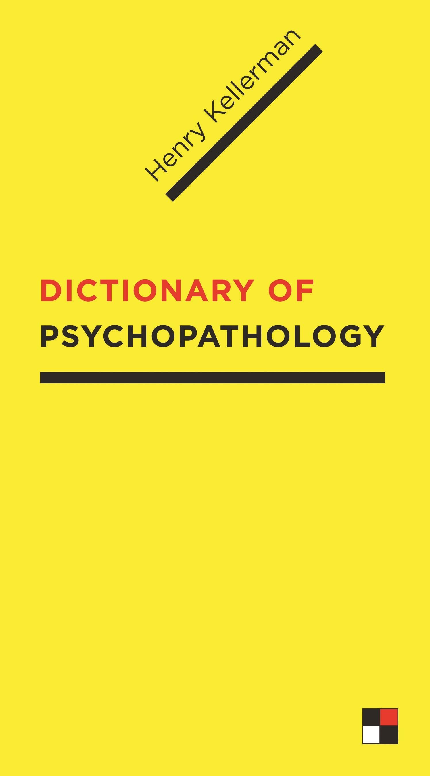 Abbildung von Kellerman | Dictionary of Psychopathology | 2009