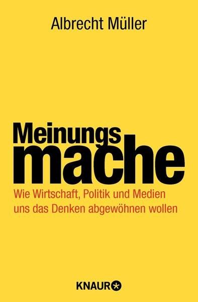 Meinungsmache | Müller, 2010 | Buch (Cover)