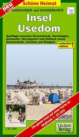 Abbildung von Radwander- und Wanderkarte Insel Usedom | 3. Auflage | 2016 | Ausflüge zwischen Peenemünde, ...