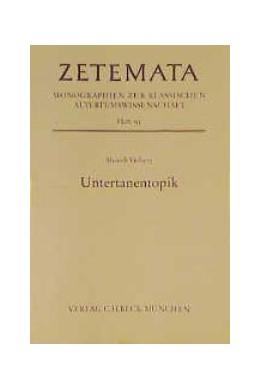 Abbildung von Vielberg, Meinolf | Untertanentopik | 1. Auflage | 1996 | Heft 95 | beck-shop.de