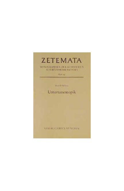 Cover: Meinolf Vielberg, Untertanentopik