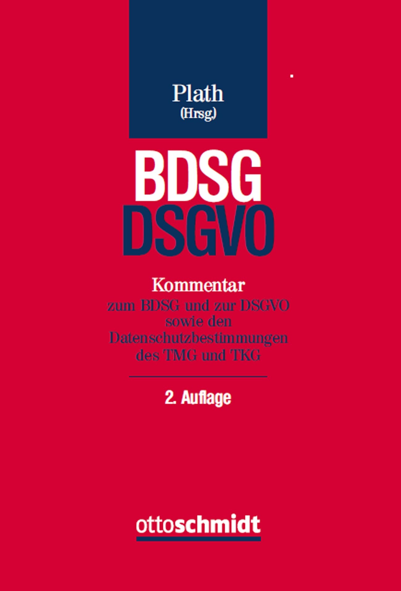 BDSG/DSGVO | Plath (Hrsg.) | Buch (Cover)