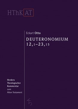 Abbildung von Otto | Deuteronomium 12 - 34 | 1. Auflage | 2016 | beck-shop.de