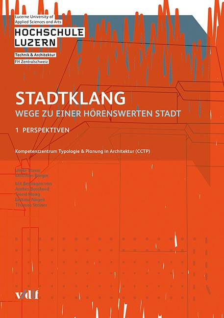 Stadtklang - Wege zu einer hörenswerten Stadt | / Sturm / Bürgin, 2016 | Buch (Cover)