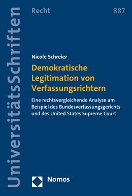 Abbildung von Schreier | Demokratische Legitimation von Verfassungsrichtern | 2016 | Eine rechtsvergleichende Analy... | 887