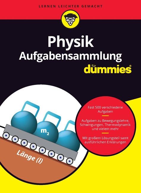 Aufgabensammlung Physik für Dummies, 2016 | Buch (Cover)