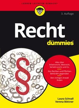 Abbildung von Schnall / Böttner | Recht für Dummies | 3. Auflage | 2016