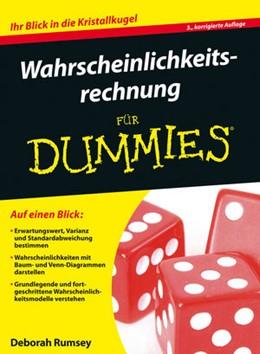 Abbildung von Rumsey | Wahrscheinlichkeitsrechnung für Dummies | 3. Auflage | 2016 | beck-shop.de