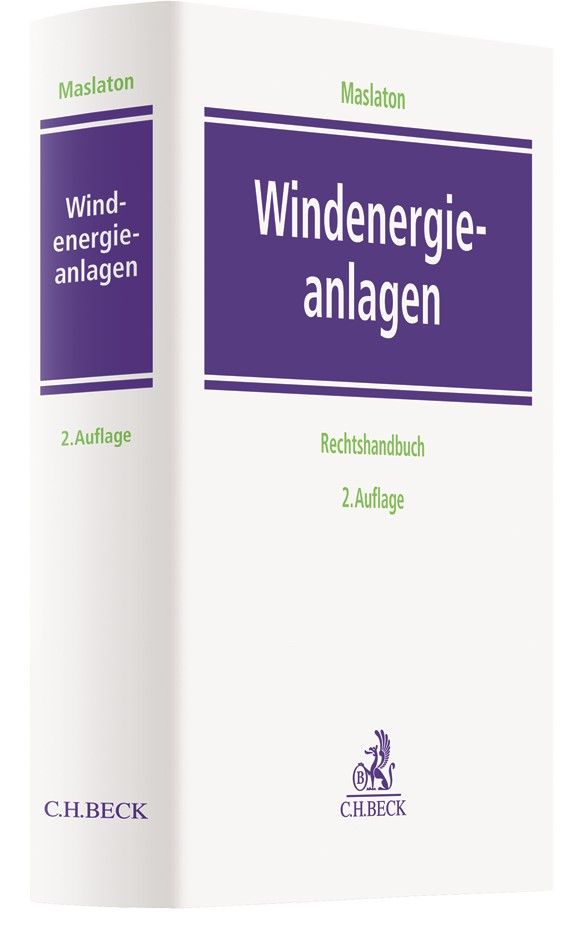 Windenergieanlagen | Maslaton | 2. Auflage, 2017 | Buch (Cover)