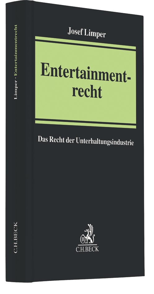 Entertainmentrecht | Limper | Buch (Cover)