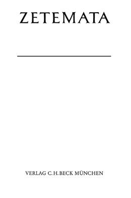 Abbildung von Schenk, Peter | Studien zur poetischen Kunst des Valerius Flaccus | 1999 | Beobachtungen zur Ausgestaltun... | Heft 102