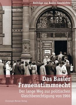 Abbildung von Kreis   Das Basler Frauenstimmrecht   2016   Der lange Weg zur politischen ...