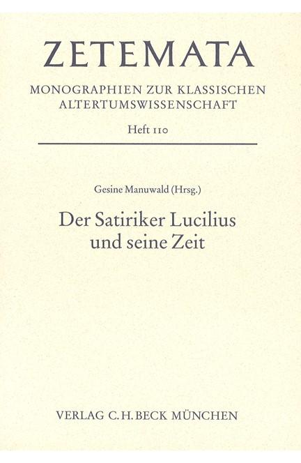 Cover: , Der Satiriker Lucilius und seine Zeit