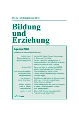 Abbildung von Meilhammer / Hinzen | Agenda 2030 - Pädagogische und Entwicklungspolitische Positionen und Diskussionen | 2016 | 69,3