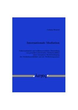 Abbildung von Wentzel   Internationale Mediation   2016   Vollstreckbarkeit und kollisio...