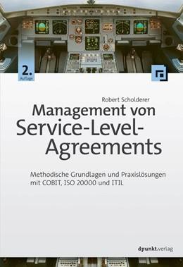Abbildung von Scholderer | Management von Service-Level-Agreements | akt. und erw. | 2016 | Methodische Grundlagen und Pra...