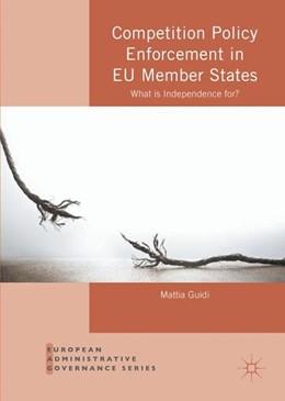 Abbildung von Guidi   Competition Policy Enforcement in EU Member States   1. Auflage   2016   beck-shop.de