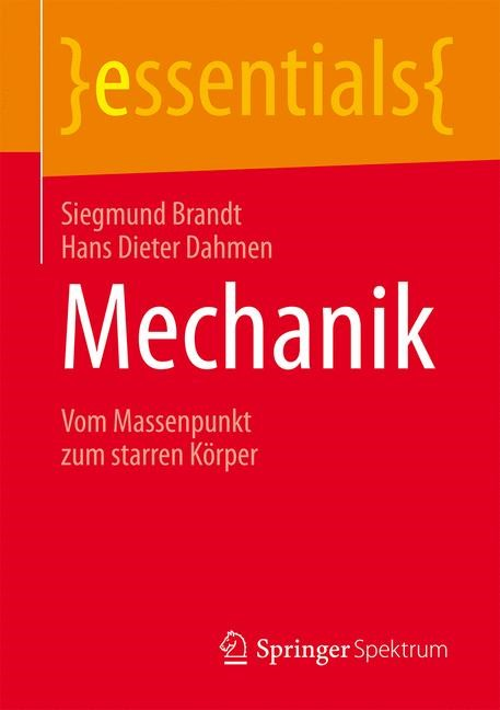 Mechanik | Brandt / Dahmen, 2016 | Buch (Cover)