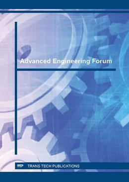 Abbildung von Advanced Engineering Forum Vol. 16 | 2016 | Volume 16