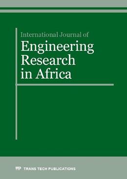 Abbildung von International Journal of Engineering Research in Africa Vol. 23 | 1. Auflage | 2016 | Volume 23 | beck-shop.de