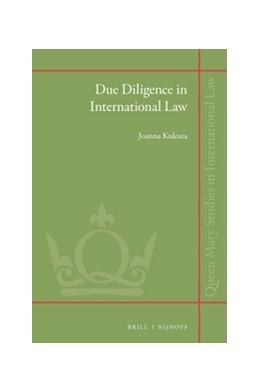 Abbildung von Kulesza | Due Diligence in International Law | 2016