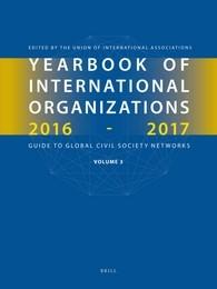 Abbildung von Yearbook of International Organizations 2016-2017, Volume 3 | 2016