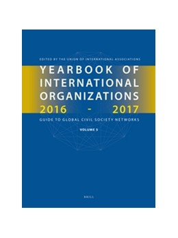 Abbildung von Yearbook of International Organizations 2016-2017, Volume 5 | 2016 | Statistics, Visualizations, an... | 5