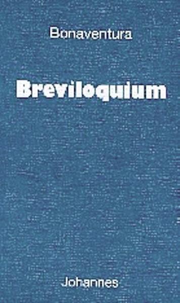 Breviloquium | Bonaventura, 2002 | Buch (Cover)