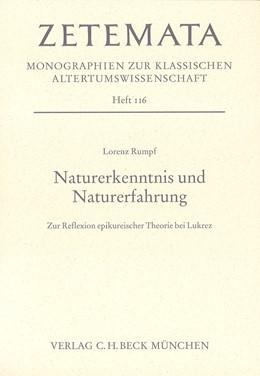 Abbildung von Rumpf, Lorenz | Naturerkenntnis und Naturerfahrung | 1. Auflage | 2003 | Heft 116 | beck-shop.de