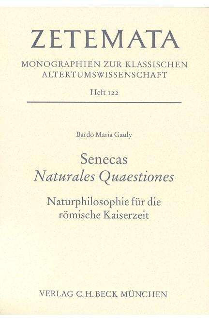 Cover: Bardo Maria Gauly, Senecas Naturales Quaestiones