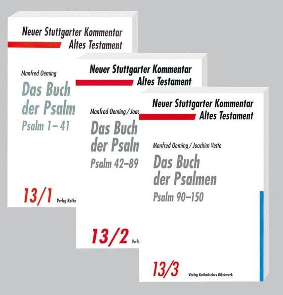 Das Buch der Psalmen - 3 Bände | Oeming / Vette, 2016 | Buch (Cover)