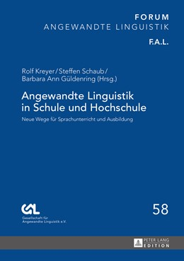 Abbildung von Kreyer / Schaub | Angewandte Linguistik in Schule und Hochschule | 1. Auflage | 2016 | beck-shop.de