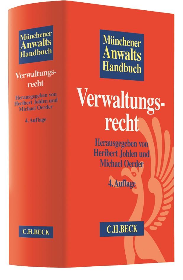 Münchener Anwaltshandbuch Verwaltungsrecht | 4., aktualisierte Auflage, 2017 | Buch (Cover)