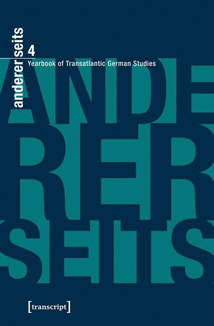 Abbildung von Donahue / Mein / Parr | andererseits - Yearbook of Transatlantic German Studies | 2016
