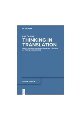 Abbildung von Scharf | Thinking in Translation | 2019 | Scripture and Redemption in th... | 94