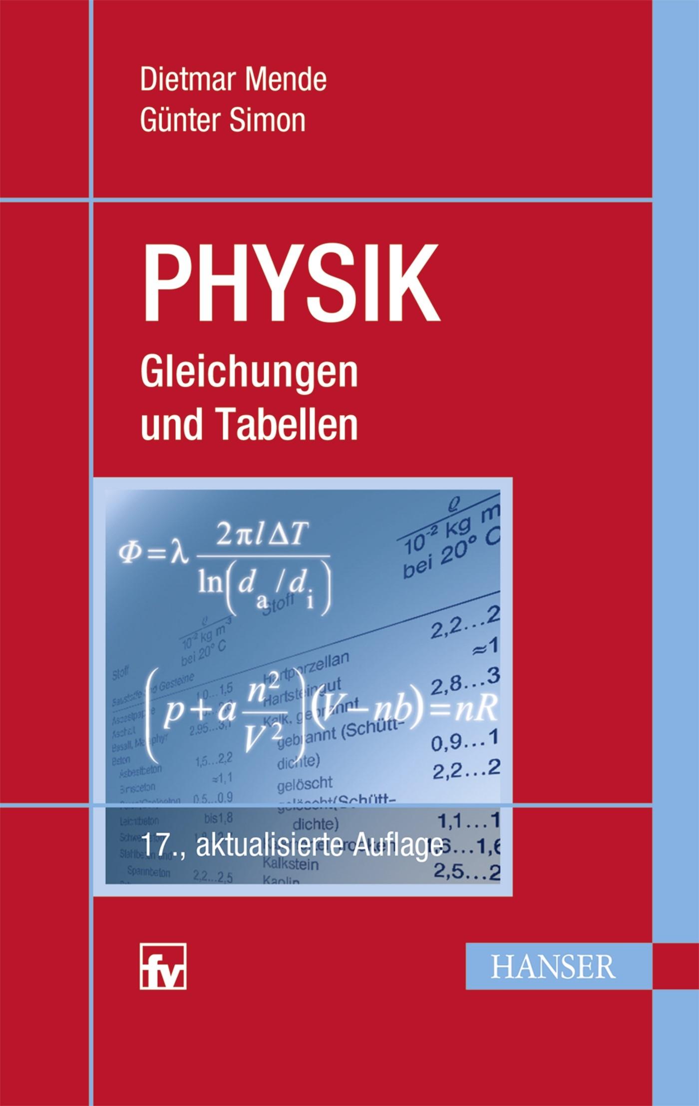 Abbildung von Mende / Simon | Physik | 17., aktualisierte Auflage | 2016