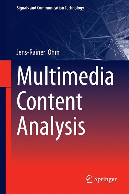 Multimedia Content Analysis | Ohm | 1st ed. 2016, 2016 | Buch (Cover)