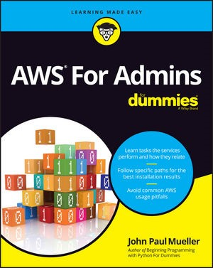 AWS for Admins For Dummies | Gookin, 2016 | Buch (Cover)