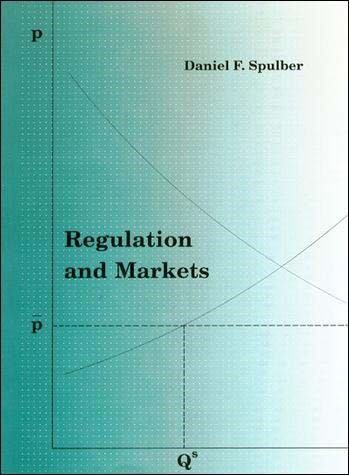 Regulation and Markets | Spulber, 1989 | Buch (Cover)