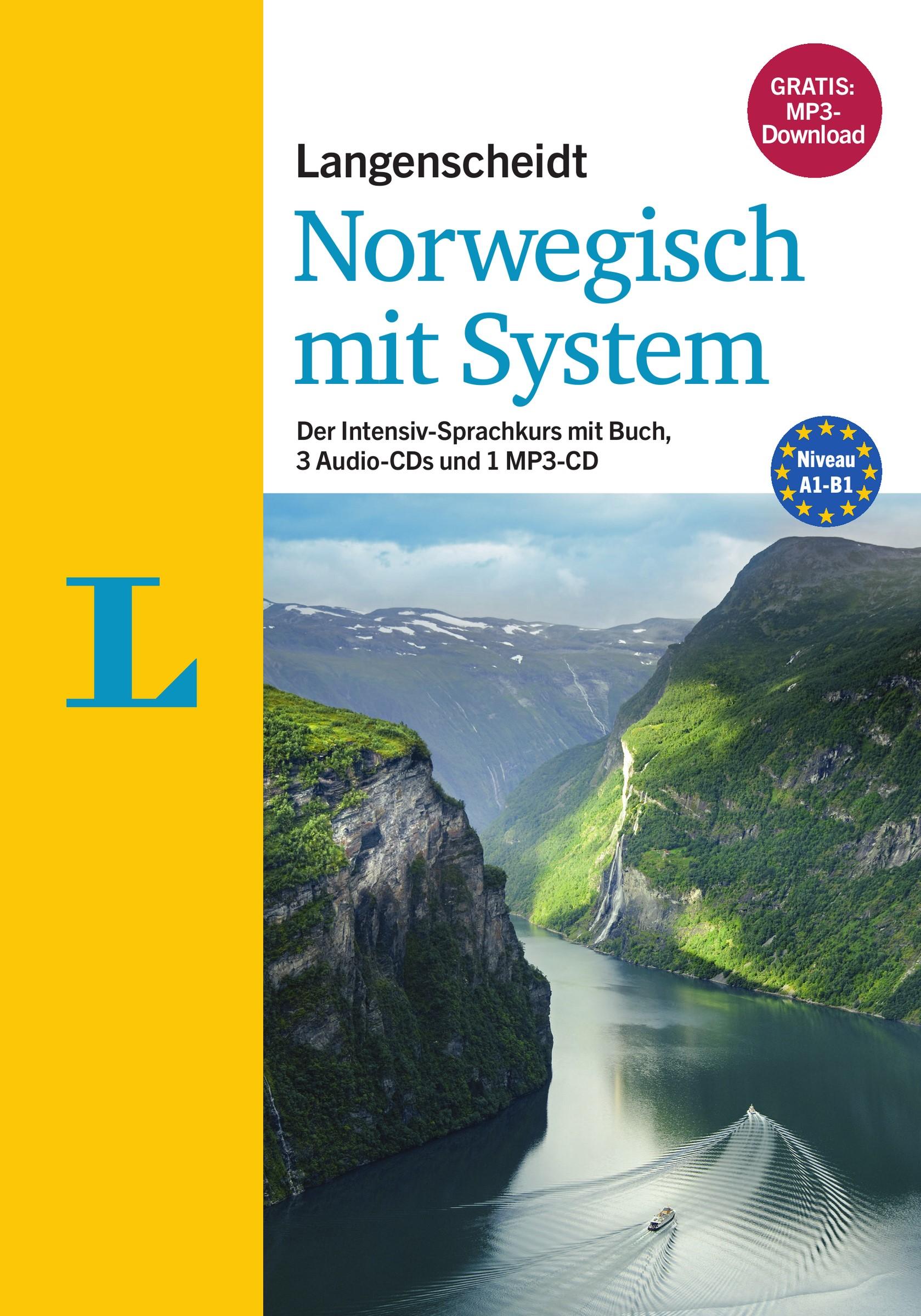 Langenscheidt Norwegisch mit System - Sprachkurs für Anfänger und Fortgeschrittene | Aas / Langenscheidt, 2016 | Buch (Cover)