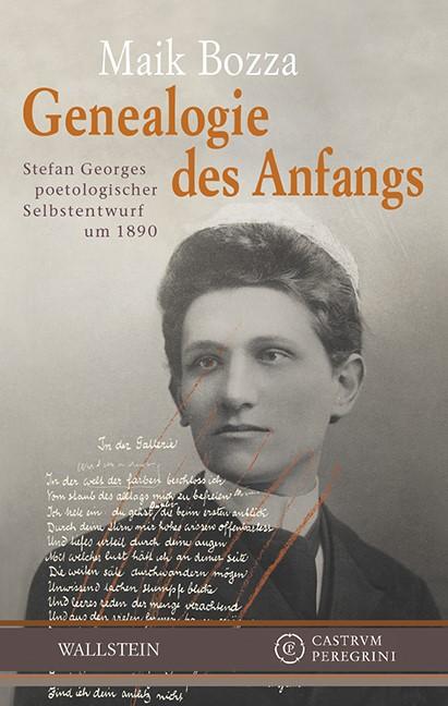 Genealogie des Anfangs   Bozza, 2016   Buch (Cover)