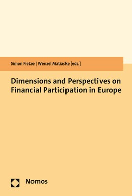 Abbildung von Matiaske / Fietze | Dimensions and Perspectives on Financial Participation in Europe | 2016